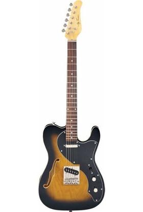 Jay Turser JT LT CRUSDLX ANS Elektro Gitar