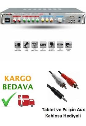 Osawa K 008U Stereo 150W Usb/Mp3 Seslendirme Anfisi