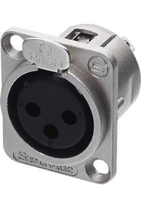 Seetronic K3F2C 3 Pin Şase Dişi XLR