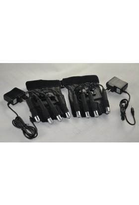 Eclips Laser Glove 4 x 30W Yeşil 2 Adet Eldiven Lazer