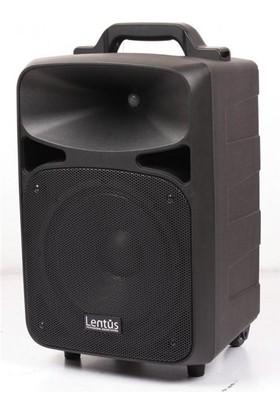 Lentus LNT-P-100 EL+YAKA 10 inç 120W Akülü Taşınabilir Ses Sistemi