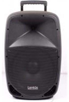 Lentus LNT-P-15 EL 15 inch 75/220 Watt Akülü Taşınabilir Ses Sistemi