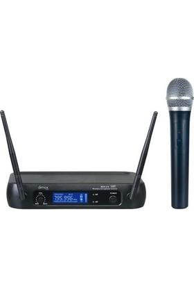 Denox Astron Serisi MDR-210 EL Tipi UHF Telsiz Mikrofon Seti