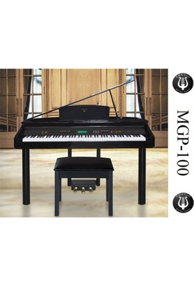 Adagio MGP-100 Siyah Dijital Kuyruklu Piyano