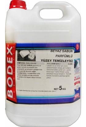 Bodex Beyaz Sabun Parfümlü Yüzey Temizleyici Net 5Kg