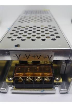 Ldr Metal Kasa Slim 12V 20Amper Led Adaptör