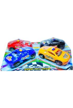 Transcend Oyuncak Araba Mini Yarış Araba Oyuncakları Polis Araba Oyuncak