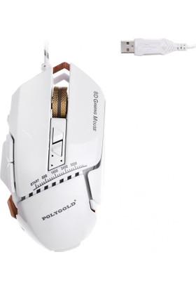 Polygold Profesyonel Işıklı Oyuncu Mouse