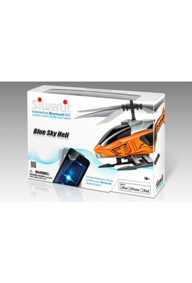 Silverlit Blu-Tech Bluetooth Sensör Kotrol Rc Helikopter Beyaz 3Ch