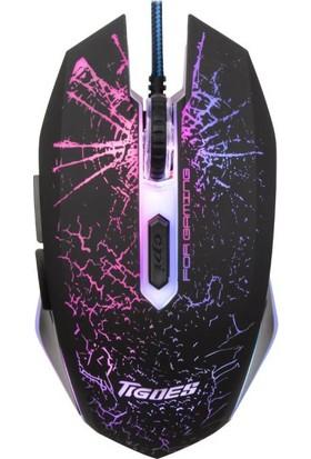 Tigoes Gm 160 Işıklı Profosyonel Gaming Maus