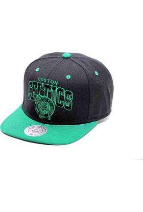 Mitchell & Ness Boston Celtıcs Yeşil Ve Siyah Snapback Cap
