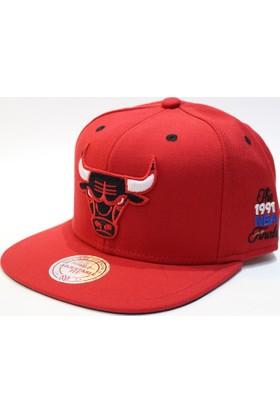 Mitchell & Ness Chıcago Bulls 1991 Snapback Cap