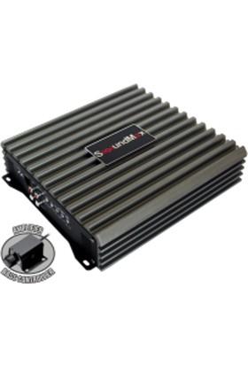 Soundmax Sxd2000 Max 7500W -Rms 2000W Kaliteli Mono Anfi Bass Kumandalı