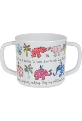 Tyrrell Katz Melamin Alıştırma Bardağı Elephant