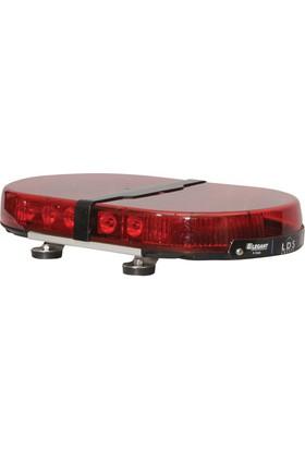 İleritrafik Mini Tepe Lambası Expert E-1151 Kırmızı-Kırmızı