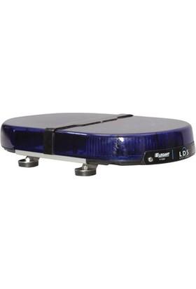 İleritrafik Mini Tepe Lambası Expert E-1151 Mavi-Mavi