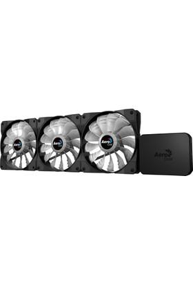 Aerocool P7-F12 Pro 3 x 12cm RGB Led Fan + RGB Kontrolcü Fan Hub (AE-P7F12-PRO)