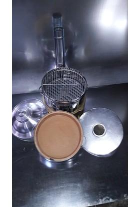 Yaramış Mangal Çay Saç Aparatlı Güveç Mangal