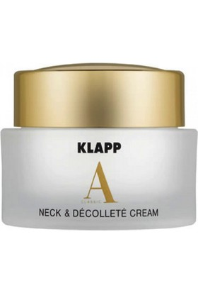 Klapp A Classic Neck & Decollete Cream 50 ml.