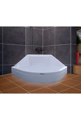 Shower Oval Oturmalı Duş Teknesi 90*90