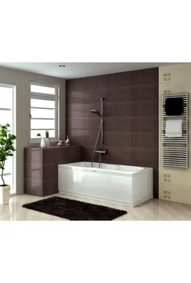Shower Valencıa Kolluklu Düz Küvet 80*150