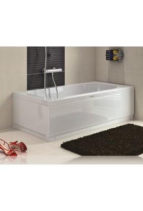 Shower Düz Mini Küvet (Oturmasız) 80*120