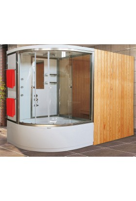 Shower Hotroom Sauna & Compact 110*110 - Sistem - Iı -