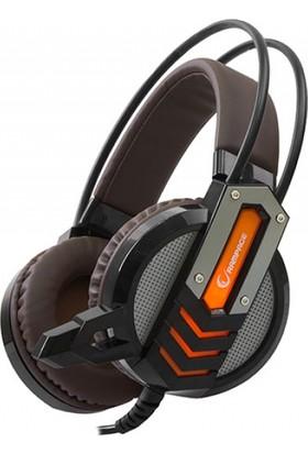 Snopy Rampage Sn-Rx3 Oyuncu Siyah/Turuncu Mikrofonlu Kulaklık