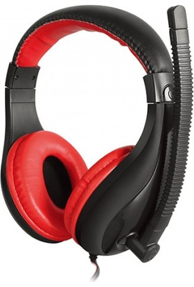 Snopy Rampage Sn-R38 Gaming Siyah/Kırmızı Mikrofonlu Kulaklık