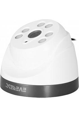 Everest Df-703B Ahd 960P-2.0 Megapixel 3.6Mm Lens 5Mm*6 Ledli Dome Güvenlik Kamerası