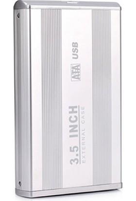 Hytech Hy-Hdc33 3.5 Usb 3.0 Sata Harddisk Kutusu Silver
