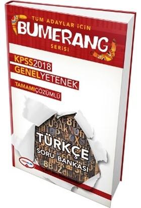 Yediiklim 2018 Kpss Bumerang Türkçe Tamamı Çözümlü Soru Bankası