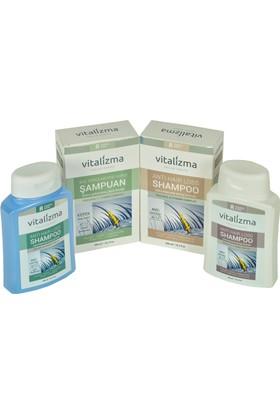 Vitalizma Anti Hair Loss Shampoo 2'li Set (Kremli - Kremsiz )