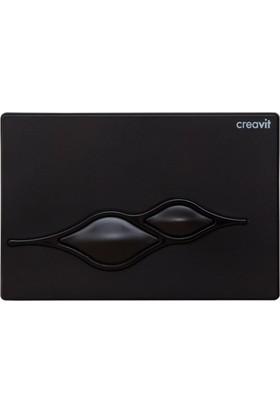 Creavit Ufo Mat Siyah Boyalı Kumanda Paneli