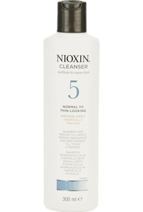Nioxin Cleanser No:5 Medium Thick Şampuan 300Ml