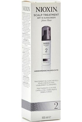 Nioxin Scalp Treatment 5 Medium Thick Doğal Ve Boyalı Saçlar