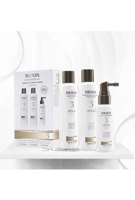 Nioxin System Kit 3 Normal Ve İnce Telli Boyalı Saç İçin 3'Lü Set