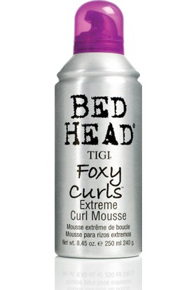 Tigi Bed Head Foxy Curls Extreme Bukle Şekillendirici Köpük 250Ml