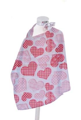 Hupim Kalpli Emzirme Önlüğü Bebek Emzirme Örtüsü Mama Önlüğü