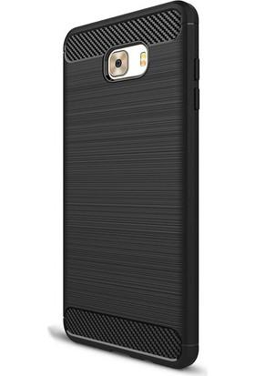 Case 4U Samsung Galaxy C9 Pro Korumalı Arka Kapak Room Siyah