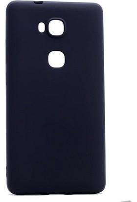 Case 4U Huawei GR5 Premium Mat Silikon Kılıf Siyah