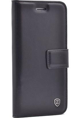 Case 4U Samsung Galaxy J730 ( J7 2016 ) Kapaklı Kılıf Siyah
