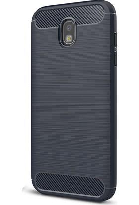 Case 4U Samsung Galaxy J730 Korumalı Arka Kapak Room Lacivert*