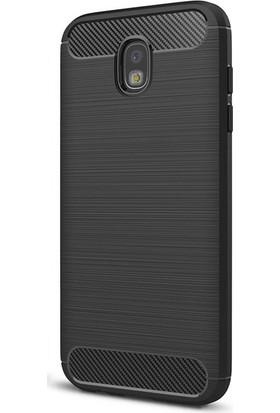 Case 4U Samsung Galaxy J730 ( J7 2016 )Korumalı Arka Kapak Room Siyah