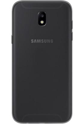 Case 4U Samsung Galaxy J530 ( J5 2017 ) Silikon Kılıf Siyah