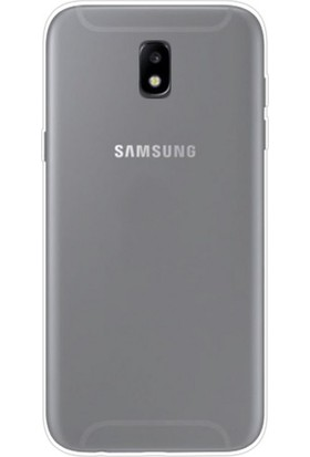 Case 4U Samsung Galaxy J530 ( J5 2017 ) Silikon Kılıf Şeffaf