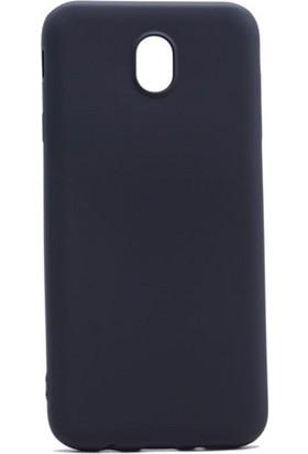 Case 4U Samsung Galaxy J730 Pro Premium Mat Silikon Kılıf Siyah