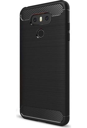Case 4U LG G6 Korumalı Arka Kapak Room Siyah