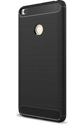 Case 4U Xiaomi Mi Max 2 Korumalı Arka Kapak Room Siyah