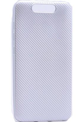 Case 4U Turkcell T80 Karbon Arka Kapak Gri